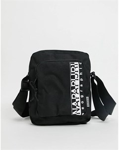 Черная сумка через плечо среднего размера Happy Napapijri