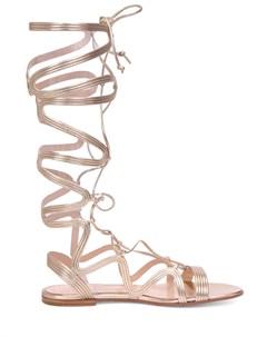 Кожаные сандалии Gianvito rossi