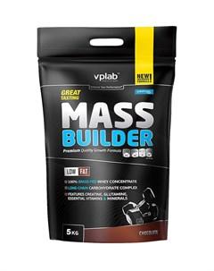 Гейнер Mass Builder вкус Шоколад 5 кг VPLab Vplab nutrition