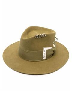 Фетровая шляпа федора Azteka Nick fouquet