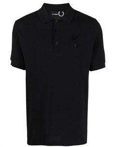 Рубашка поло с брошью Raf simons x fred perry