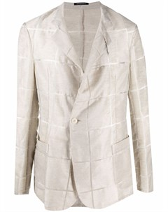 Пиджак с геометричным узором Emporio armani