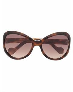 Солнцезащитные очки Bellux в оправе кошачий глаз Moncler eyewear