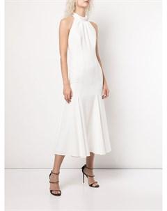 Платье без рукавов с вырезом халтер Milly