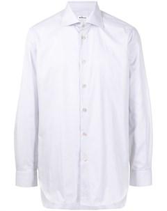 Рубашка с классическим воротником Kiton