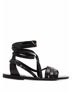 Сандалии Satira с ремешками Ancient greek sandals