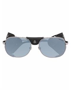 Солнцезащитные очки авиаторы Luminova Moncler eyewear