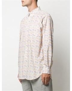 Рубашка с графичным принтом Engineered garments