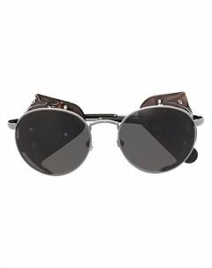 Солнцезащитные очки Blazon в круглой оправе Moncler eyewear
