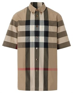Клетчатая рубашка на пуговицах Burberry