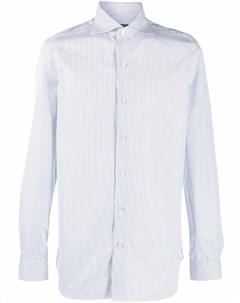 Полосатая рубашка на пуговицах Finamore 1925 napoli