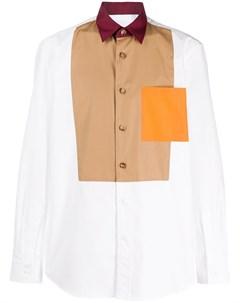 Рубашка в технике пэчворк Burberry