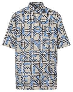 Рубашка в клетку Vintage Check с логотипом Burberry