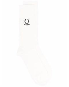 Носки с вышитым логотипом Raf simons x fred perry