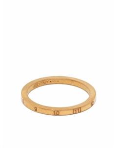 Тонкое кольцо с гравировкой Maison margiela