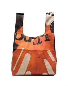 Сумка тоут Grocery Bag с принтом Our legacy