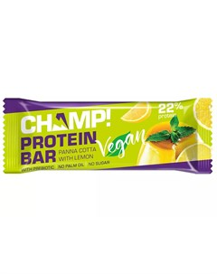 Батончик протеиновый Панна Котта с лимоном 45 г Champ Леовит