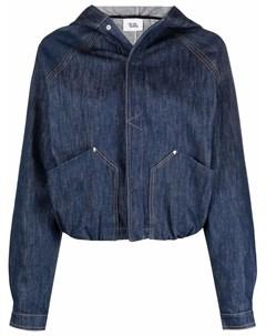 Джинсовая куртка с капюшоном Vejas