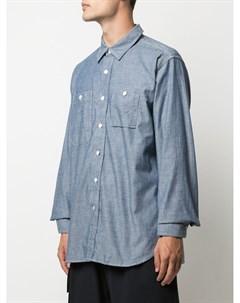 Рубашка с удлиненными рукавами Engineered garments