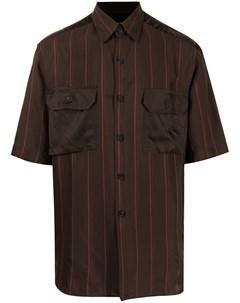 Рубашка с атласными вставками Qasimi