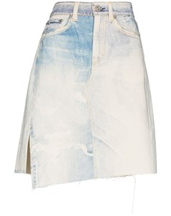 Джинсовая юбка Craft асимметричного кроя Our legacy