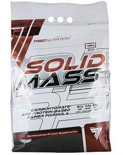 Гейнер Solid Mass пакет вкус шоколад 5800 гр Trec nutrition