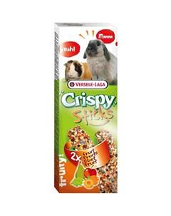 Лакомство для грызунов Crispy Палочки с фруктами 2шт 110г Versele-laga