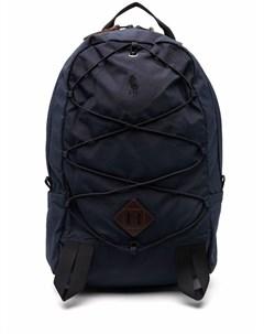 Рюкзак с вышитым логотипом Polo ralph lauren