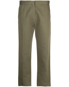 Укороченные брюки строгого кроя Marni