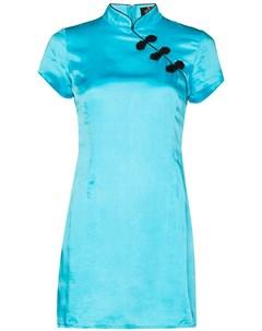 Приталенное платье мини Suki De la vali