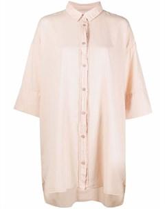 Рубашка оверсайз с приспущенными плечами Kristensen du nord