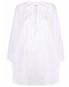 Поплиновая рубашка с приспущенными плечами Kristensen du nord