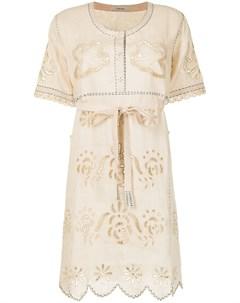 Платье футболка с вышивкой Vita kin