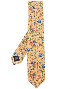 Галстук с цветочным принтом Polo ralph lauren