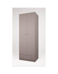Шкаф Двухсекционный Simple с ящиком Polini
