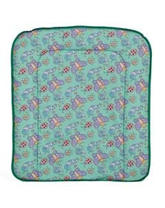 Мягкая пеленальная доска Фея на комод 70х61см цвета в ассорт Polini-kids