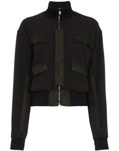 Lot78 куртка бомбер с длинными рукавами и карманами Lot78