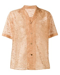 sulvam рубашка с короткими рукавами и вышивкой Sulvam