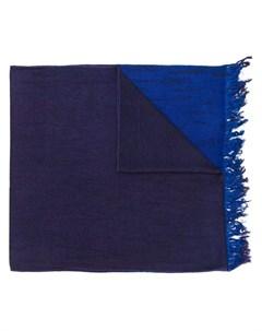 suzusan шарф в стиле колор блок один размер фиолетовый Suzusan