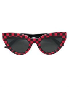 Mcq by alexander mcqueen eyewear солнцезащитные очки в оправе кошачий глаз Mcq by alexander mcqueen eyewear