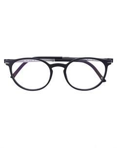 Silhouette очки в круглой оправе Silhouette