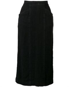 Chanel vintage юбка карандаш миди Chanel vintage