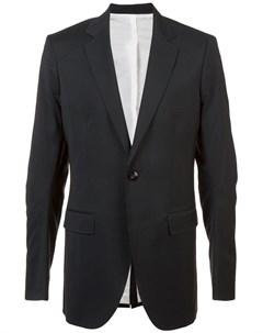 Thamanyah пиджак прямого кроя Thamanyah