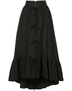 Irene юбка с эффектом помятости 36 черный Irene