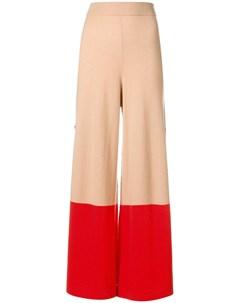 temperley london трикотажные брюки explorer нейтральные цвета Temperley london