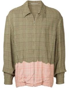 Comme des garcons vintage куртка рубашка в клетку Comme des garçons vintage