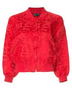 Comme des garcons vintage куртка бомбер с вышивкой Comme des garçons vintage