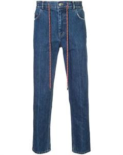 Christian dada джинсы с поясом на завязках Christian dada