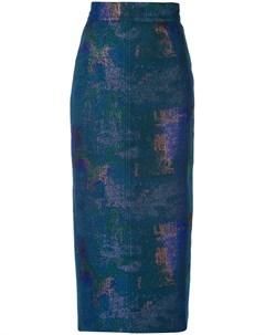 Rubin singer юбка карандаш 2 синий Rubin singer