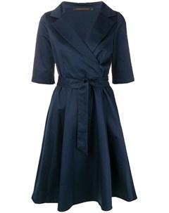 Incentive cashmere платье миди с запахом Incentive! cashmere